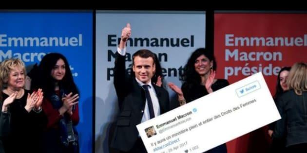 """Contrairement à l'engagement de Macron, il n'y a pas de """"ministère plein et entier des Droits des Femmes"""""""
