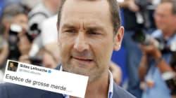 Gilles Lellouche s'emporte après le soutien deDupont-Aignanà Le