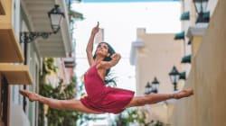 Bailarinas en Puerto Rico reflejan la belleza de América