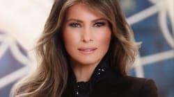 Le portrait officiel de Melania Trump sent bon les années