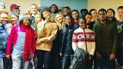 Madonna a passé Thanksgiving avec de jeunes SDF