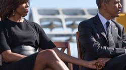 Le photographe d'Obama rappelle aux Trump comment un couple présidentiel se tient la