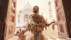 Instagram's Viral 'Follow Me' Couple Visits The Taj For Another Stunning