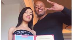 Dr. Dre aurait peut-être dû éviter cette boutade sur l'entrée à la fac de sa