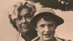 Benjamin Castaldi rend hommage à sa grand-mère Simone Signoret avec une photo