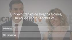 ENCUESTA: El nuevo trabajo de Begoña Gómez, mujer de Pedro Sánchez