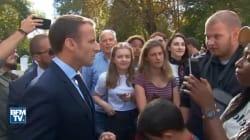 Macron revient pour la première fois sur l'échange avec Jonathan