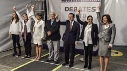 Así llegan los candidatos al tercer