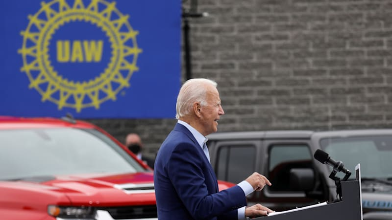 Higher fuel efficiency, more EVs: Automakers prepare for potential Biden win