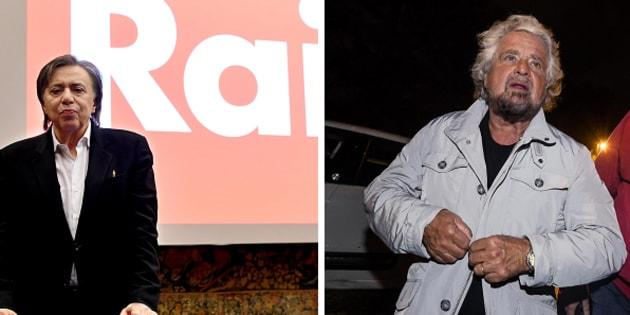 Flop di Grillo: battuto da Di Maio negli ascolti tv