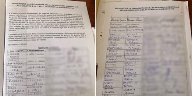 Dalla Lezzi a Donno, ecco il documento firmato dagli M5s in