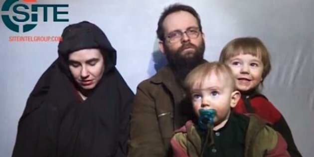 Screencap of released video of Joshua Boyle and his wife Caitlan Coleman in Dec. 19, 2016. Security experts say that those who ignore travel warnings make it difficult for rescue by western governments.