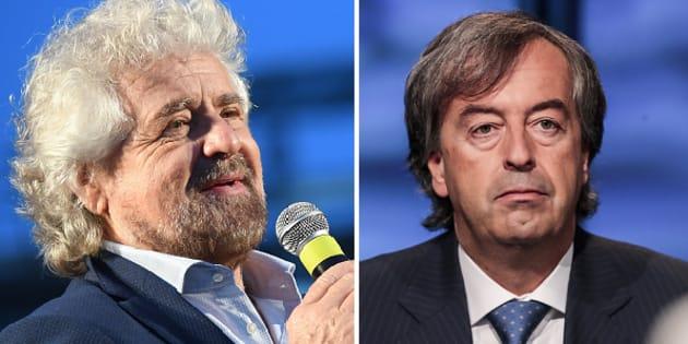 Beppe Grillo firma il patto per la scienza