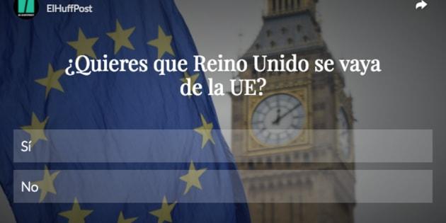 Encuesta sobre Brexit.