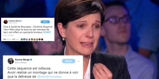 """""""Séquence odieuse"""", """"spectacle honteux""""... les réactions politiques au clash Angot/Rousseau"""