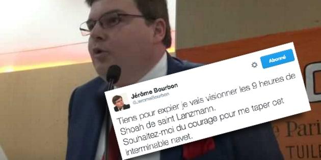 """Condamné à 11.000 euros d'amende, le directeur antisémite de """"Rivarol"""", Jérôme Bourbon, persiste et signe"""