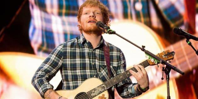 Ed Sheeran quitte twitter à cause de propos haineux