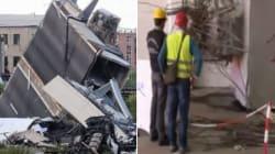 Trovato il tirante corroso che ha causato il crollo del ponte Morandi: