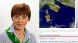 'Forza Vesuvio' si può dire, almeno su Facebook. Assolta in appello l'ex consigliera