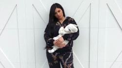 Kylie Jenner dévoile l'adorable visage de sa fille sur