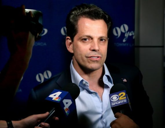 Scaramucci: Trump confronted 2 staffers over leaks