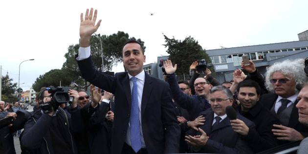 Luigi di Maio, le jeune leader du Mouvement 5 Étoiles.