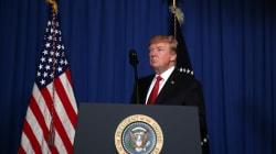 Trump confirma ataque a base militar siria en respuesta a ataque químico contra el pueblo