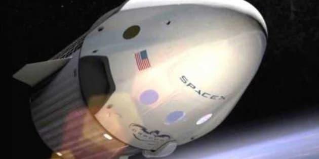 Le vaisseau Crew dragon de SpaceX devrait aller dans l'espace en janvier 2019.