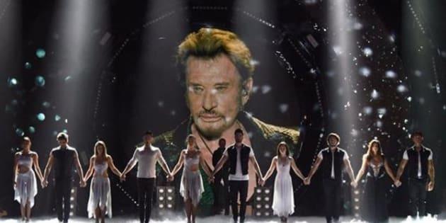 """Dans """"Danse avec les stars"""", Elodie Gossuin tire sa révérence sur un tube de Johnny Hallyday"""