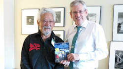 Suzuki Backs Charlie Angus For NDP