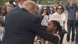 Cette petite fille dit tout haut ce qu'elle pense à Trump (enfin