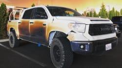 米トヨタに称賛 山火事で救助活動、愛車が黒こげの男性に「新車を差し上げます」