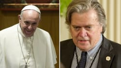 Bannon attacca Papa Francesco: