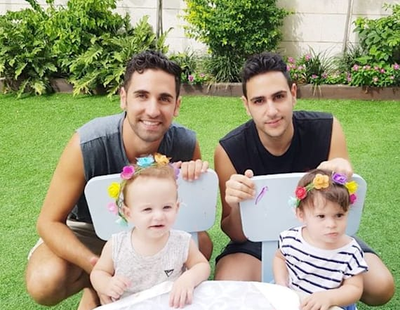 Gay dads share outrage over government question