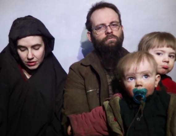 American mother held by Taliban speaks out