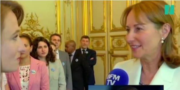 Nicolas Hulot ministre de l'écologie: Ségolène Royal regrette de ne pas avoir été maintenue à son ministère par Emmanuel Macron