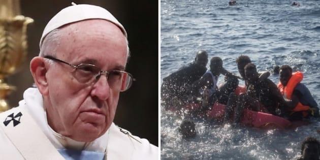Papa Francesco commemora i migranti morti nel Mediterraneo: