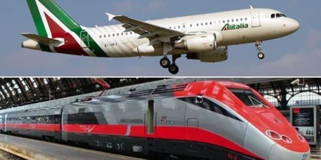 Newco Alitalia-Fs, Conte: