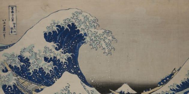 Sous la vague au large de Kanagawa de Katsushika Hokusai