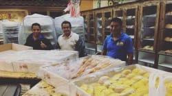 """VIDEO: ¿""""Bad hombres""""? Estos panaderos mexicanos ayudaron a las víctimas de"""