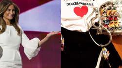 Dolce & Gabbana ha trovato il modo di far spendere 220 euro agli hater di Melania