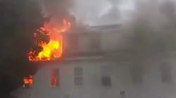 Une série d'explosions de gaz sème la panique près de