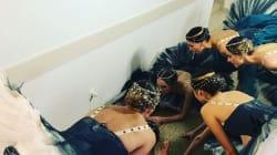 Les images incroyables de ces danseuses du Bolchoï devant