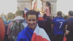 Evangeline Lilly a célébré la victoire des Bleus comme une