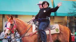 Lupe Valdez, la 'sheriff' abiertamente lesbiana, se prepara para pelear por la gubernatura de