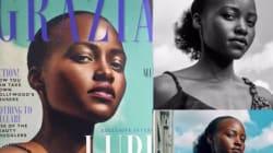Lupita Nyong'o interpelle le magazine qui a effacé ses cheveux crépus en