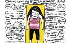 Queste 7 vignette raccontano la vita di chi pensa sempre