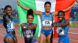 El triunfo de las atletas italianas negras deja en ridículo la xenofobia del ministro