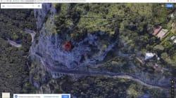 Capra in bilico su un dirupo a Capri. I passanti attivano i soccorsi e la localizzano, ma l'animale si