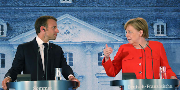 Vertice Merkel   Macron: sostegno all